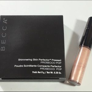•Becca highlighters• Prosecco Pop & Opal • New